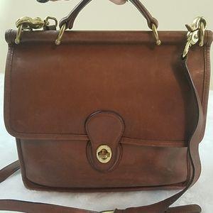 Vintage Coach 9927 Willis Top Handle Crossbody Bag